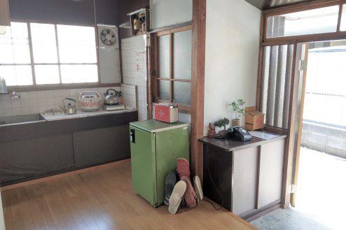 11.スタジオ和洋空間 古民家①|台所