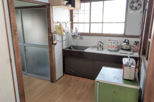 9.スタジオ和洋空間 古民家①|台所