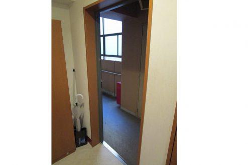 12.スタジオ和洋空間 マンション|室内・玄関