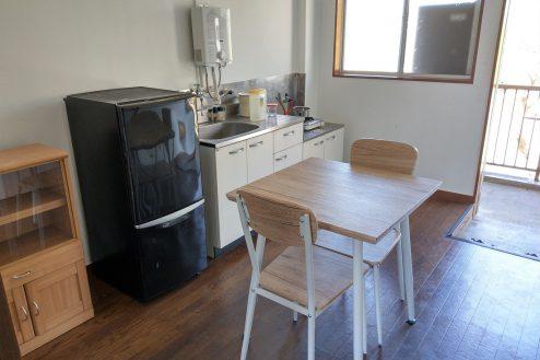 22.スタジオ和洋空間 アパート|204号室・キッチン