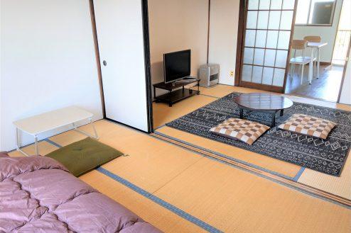 23.スタジオ和洋空間 アパート|204号室・和室