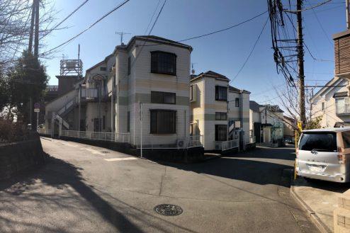 10.川崎市アパート|外観