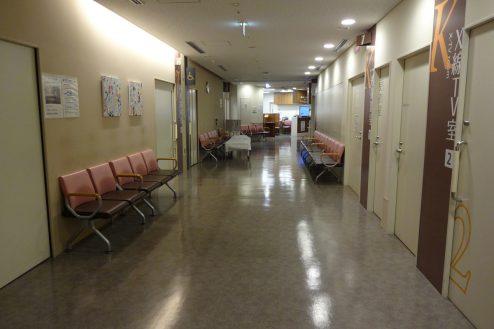 16.墨田区病院|2F廊下