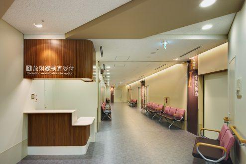 15.墨田区病院|2F廊下