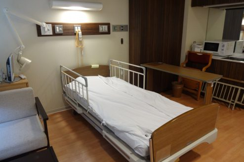 3.墨田区病院|病室(特別個室)