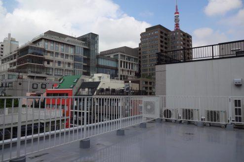 25.麻布十番キッチンスタジオ・フィットネス|屋上