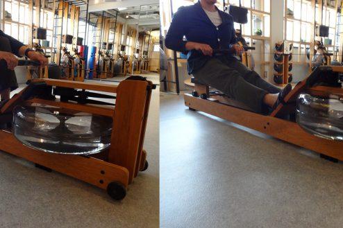 25.studio FREEDA 麻布十番|3Fフィットネススタジオ・木製ローイングマシン