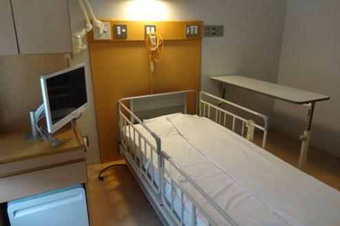 8.墨田区病院|病室(特別個室)