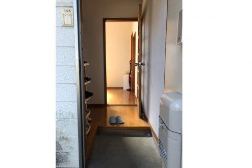 9.川崎市アパート|玄関