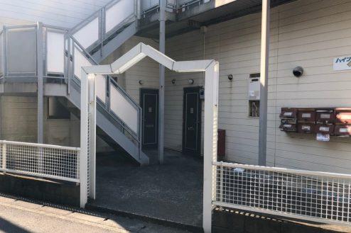 11.川崎市アパート|外観・ゲート
