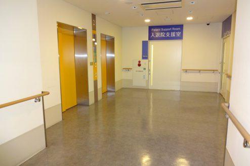 21.墨田区病院|2Fエレベーターホール