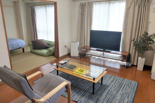 スタジオ和洋空間 マンション|外観・エントランス・廊下・階段・庭・駐輪場|東京