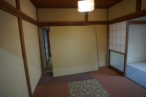 9.昭和レトロアパートスタジオ|壁の取り外し