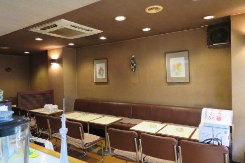 9.新宿5丁目喫茶店|店内