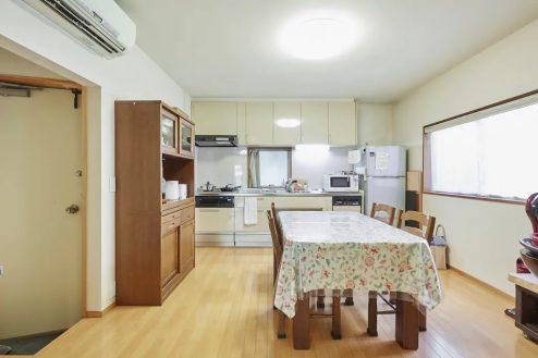 14.牛込柳町戸建て|1F・ダイニングキッチン