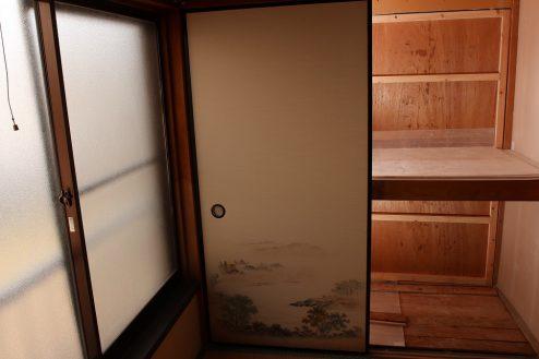 13.昭和レトロアパートスタジオ|押し入れ