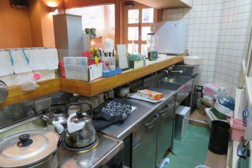 13.新宿5丁目喫茶店|厨房