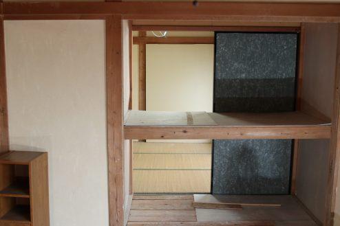 17.昭和レトロアパートスタジオ|押し入れ