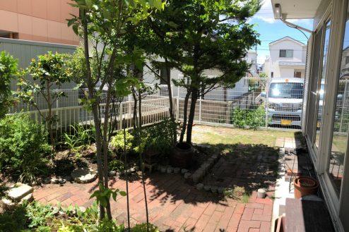 9.平塚戸建て|庭