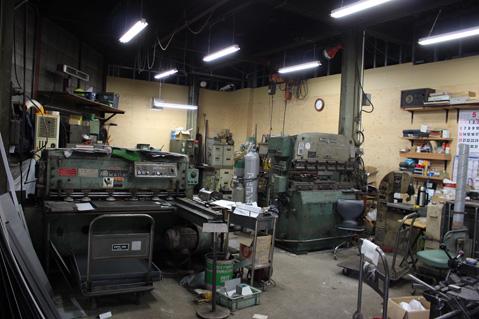 2.町工場|工場内