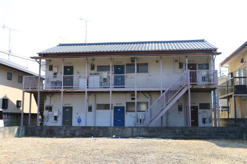 19.昭和レトロアパートスタジオ|外観