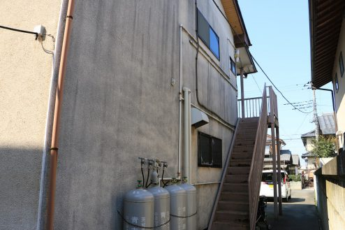 25.昭和レトロアパートスタジオ|外観・共用部・外階段