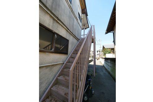 26.昭和レトロアパートスタジオ|外観・共用部・外階段