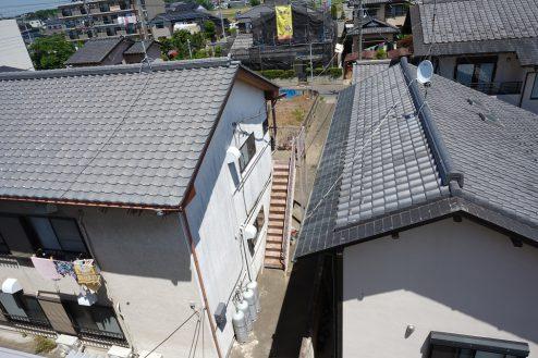 27.昭和レトロアパートスタジオ|上からの景色