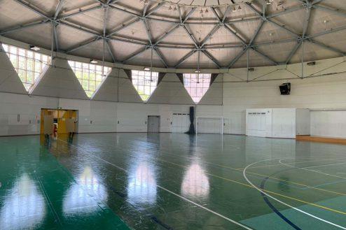 6.23区内体育館|体育館内