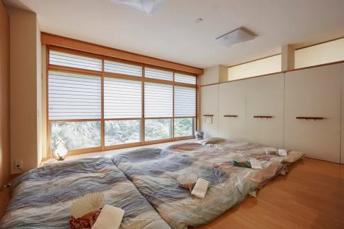 8.牛込柳町戸建て|1F・洋室(80㎡)