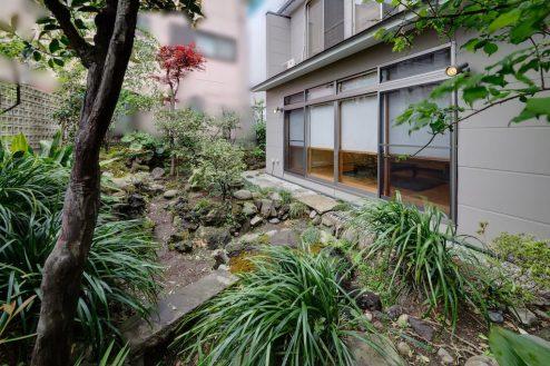 18.牛込柳町戸建て|庭