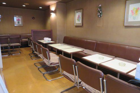 1.新宿5丁目喫茶店|店内