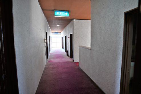 11.大型戸建スタジオ・旧ビジネスホテル|廊下