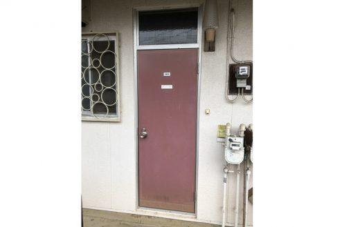 7.府中アパート|玄関・ドア(外)