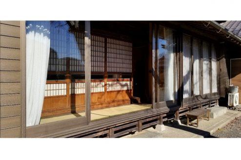 21.古民家スタジオまきのした住宅|縁側