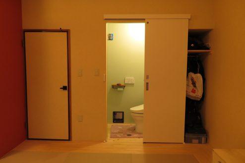 16.久地戸建て|トイレ