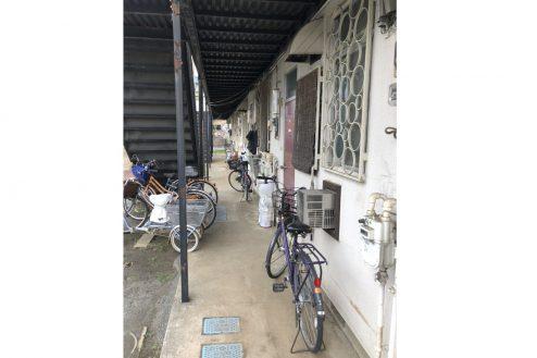 9.府中アパート|共用部・外通路