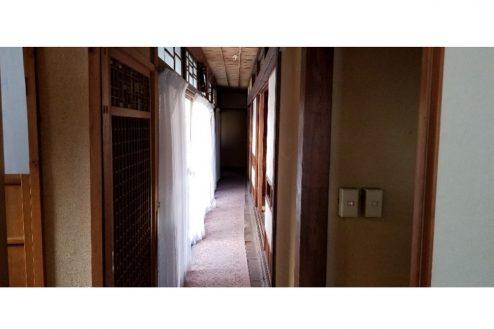 12.古民家スタジオまきのした住宅|廊下