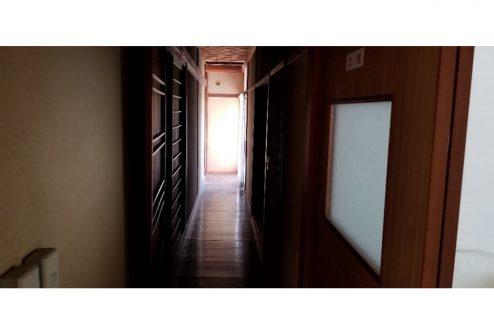 13.古民家スタジオまきのした住宅|廊下