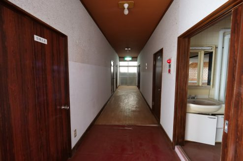10.大型戸建スタジオ・旧ビジネスホテル|廊下