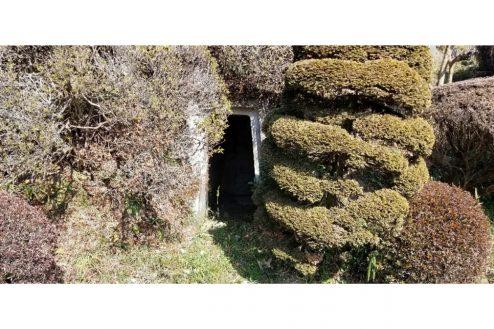 28.古民家スタジオまきのした住宅|防空壕
