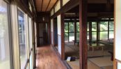 庭付き日本家屋|一軒家・和室・リビング・大広間・縁側・広い庭・芝