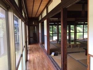1.庭付き日本家屋|縁側