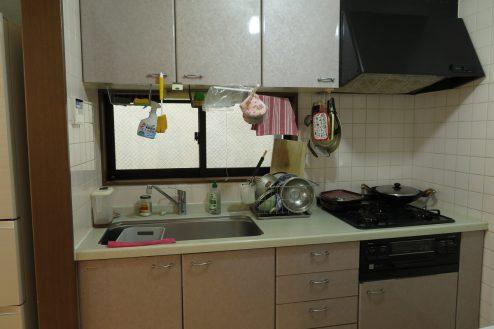 8.久地戸建て|キッチン