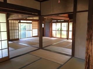 6.庭付き日本家屋|大広間(和室)