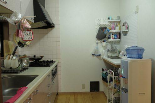 10.久地戸建て|キッチン