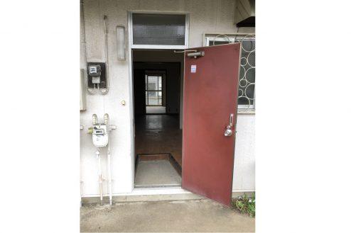 6.府中アパート|玄関・ドア(外)