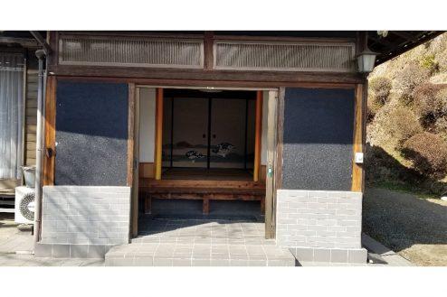 20.古民家スタジオまきのした住宅|正面玄関・中