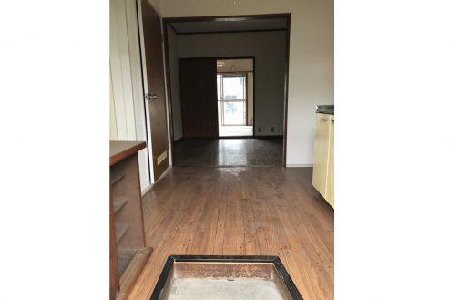 3.府中アパート|キッチン・洋室