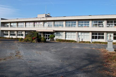 4.学校跡地スタジオ|校舎外観